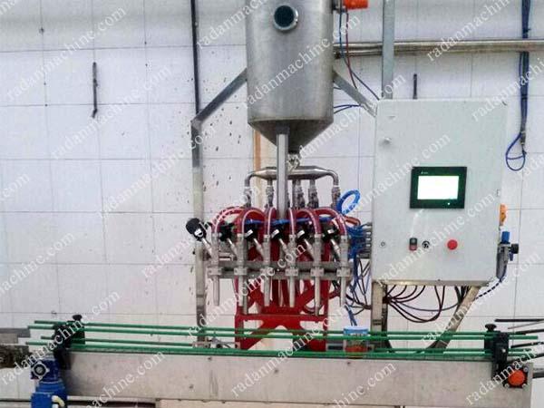 دستگاه پرکن رب گوجه فرنگی