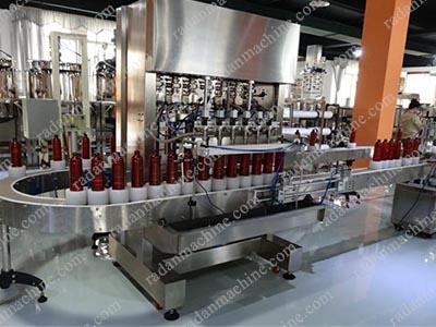 دستگاه پرکن اتوماتیک مایعات